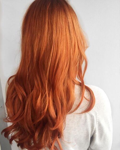 couleur Rouge abricot