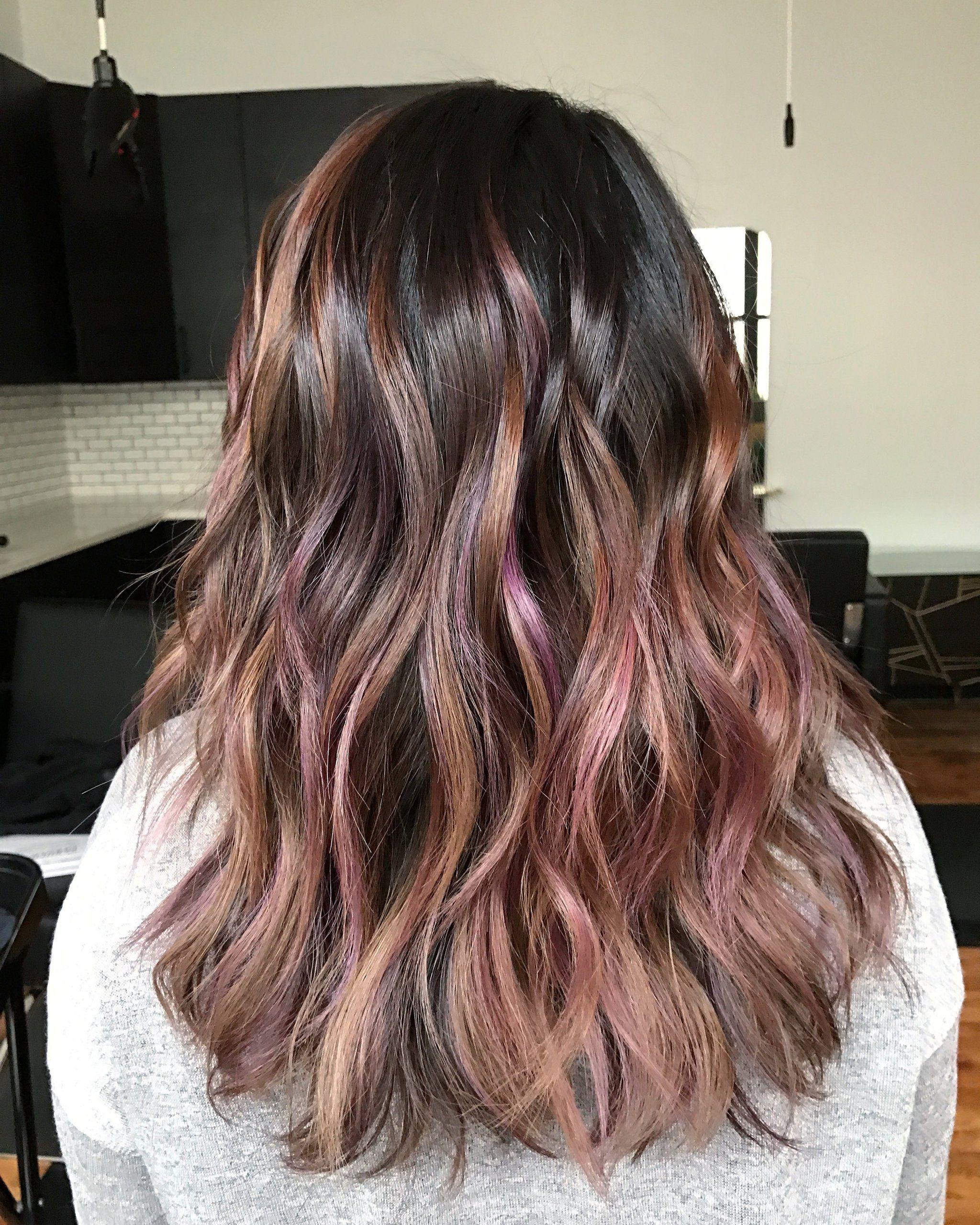 couleur de cheveux 2021 Brun chocolat rougi