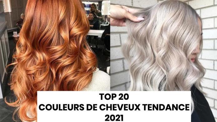 couleurs de cheveux tendances pour 2021