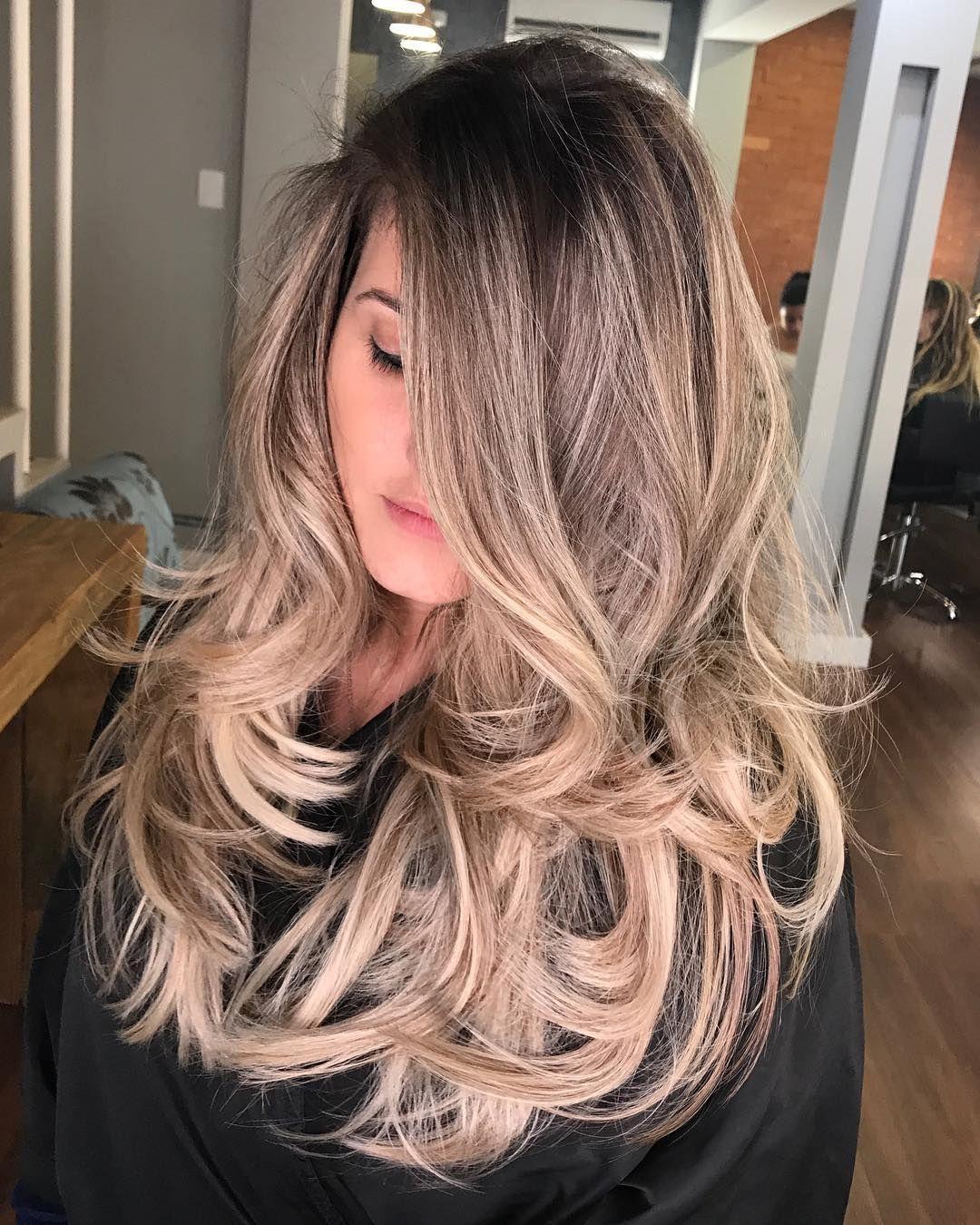 coupe de cheveux dégradé en couche