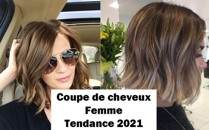 coupes de cheveux femme tendances de 2021